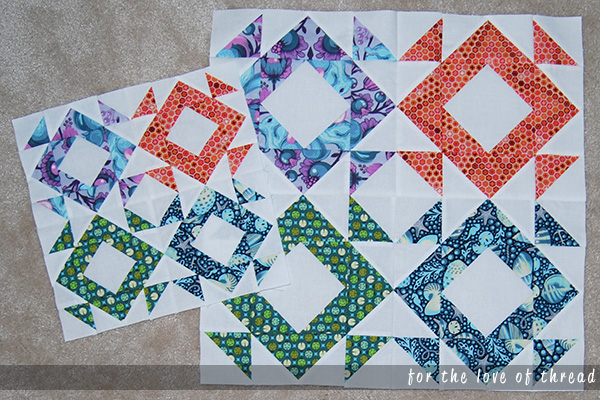 picture of two quilt blocks