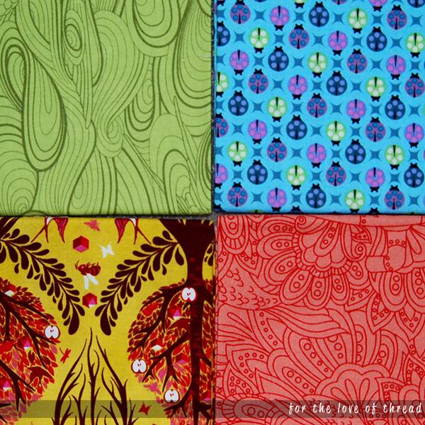 four fabrics
