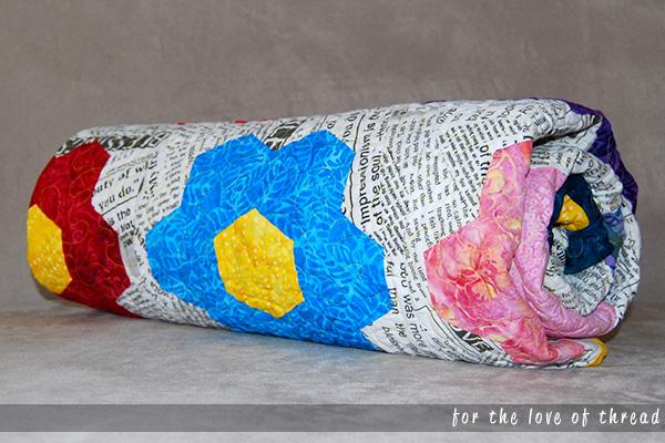 Hexy MF Redo quilt