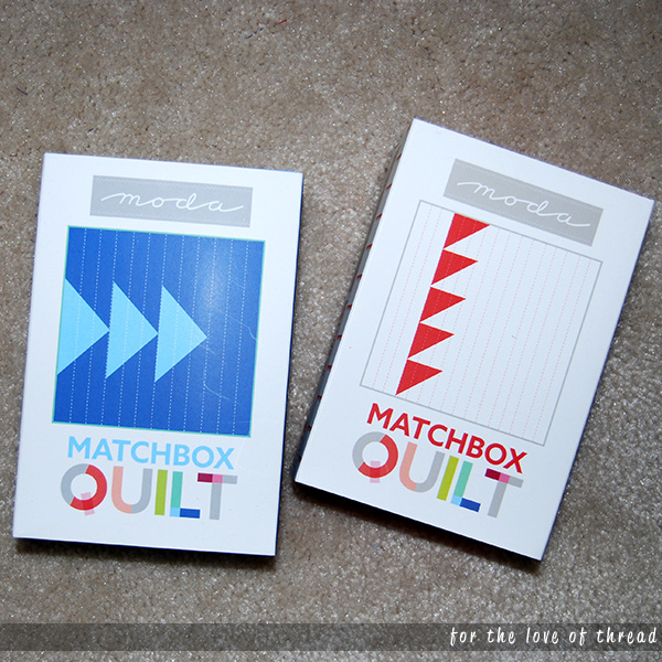 Matchbox Quilt packages
