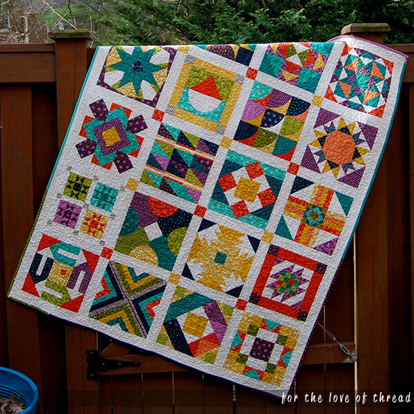 summer sampler 2016 quilt top