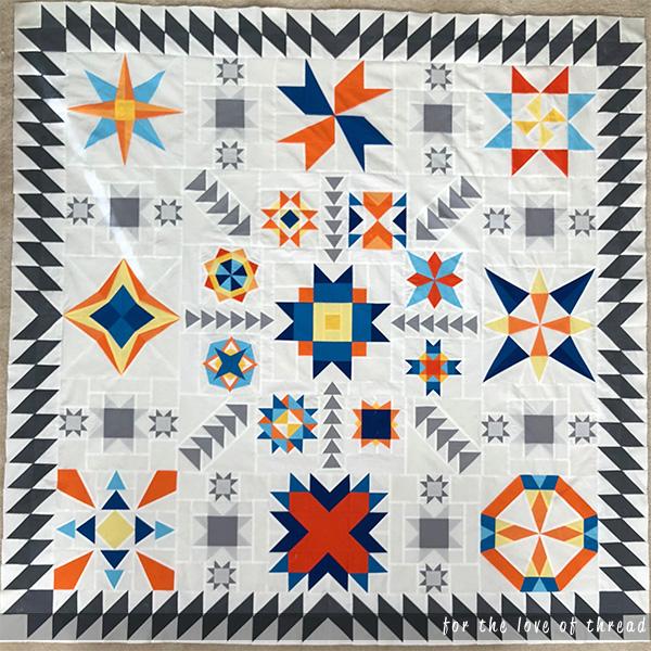 summer sampler quilt top