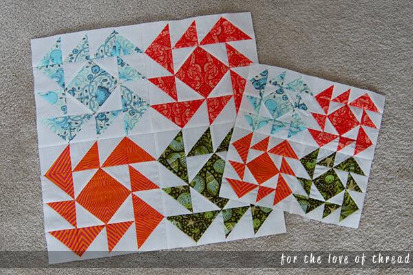 clementine 5 quilt blocks