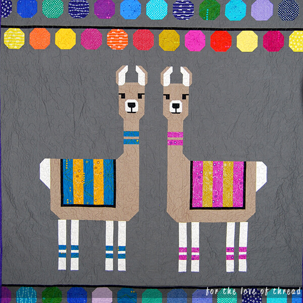 Lloyd and Lola quilt
