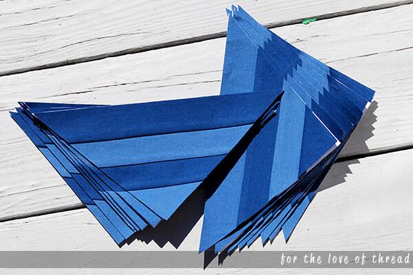 Stargazer quilt block 1