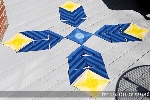 stargazer quilt blocks 1 through 3
