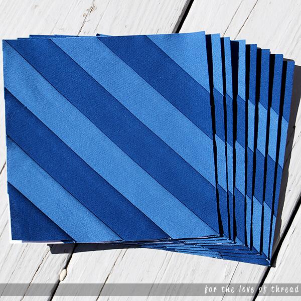Stargazer quilt block 2