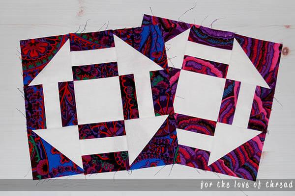 hydrangea quilt block