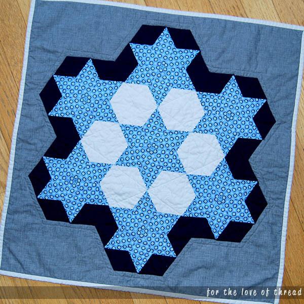 EPP mini quilt