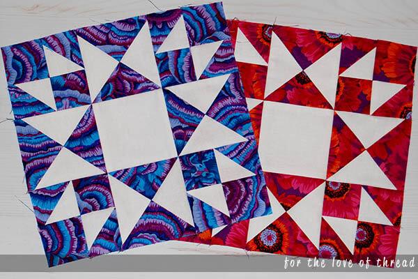 thistle quilt block