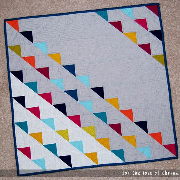 perfect HST mini quilt