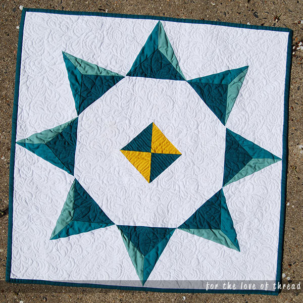 crystalline quilt from modern makes